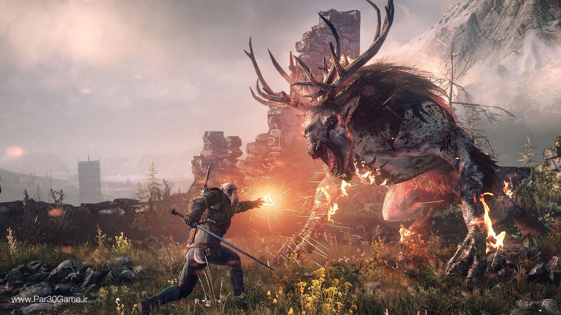 تصویری از بازی The Witcher 3