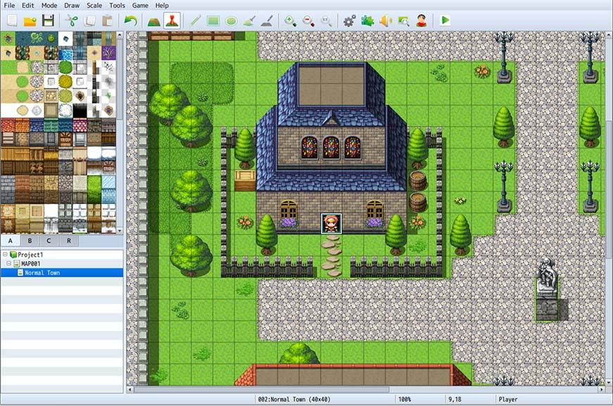 موتور بازی سازی RPG Maker