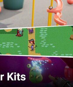 پکیج ساخت بازی بدون کدنویسی Unity Creator Kits