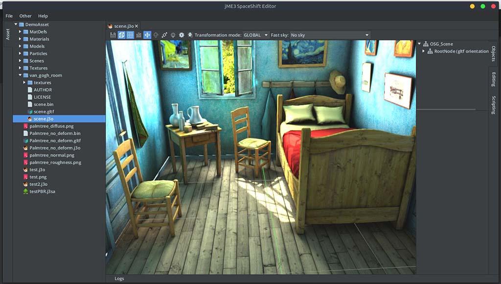 موتور بازی سازی jMonkeyEngine